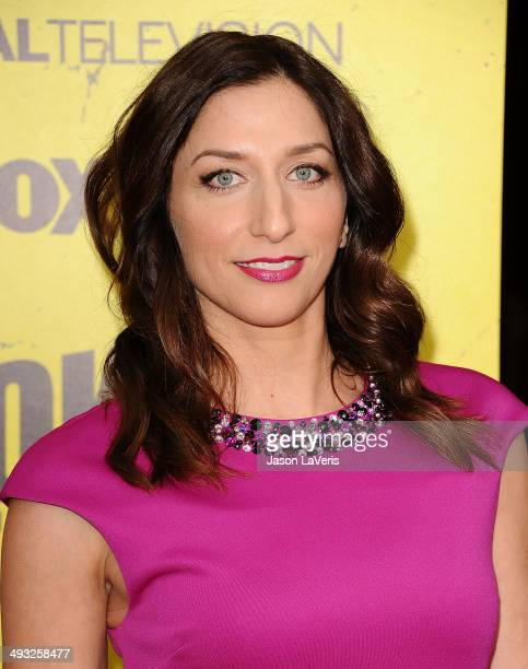 Actress Chelsea Peretti attends the Brooklyn NineNine steakout block party and special screening event at Universal Studios Backlot on May 22 2014 in...