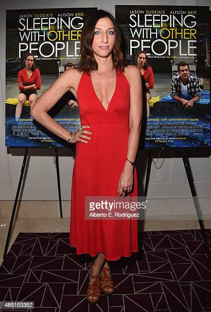Actress Chelsea Peretti attends the Tastemaker screening of IFC Films' Sleeping With Other People on August 24 2015 in Los Angeles California