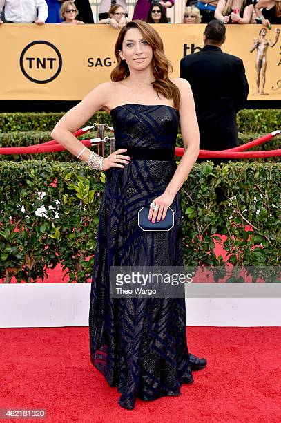 Actress Chelsea Peretti attends TNT's 21st Annual Screen Actors Guild Awards at The Shrine Auditorium on January 25 2015 in Los Angeles California...