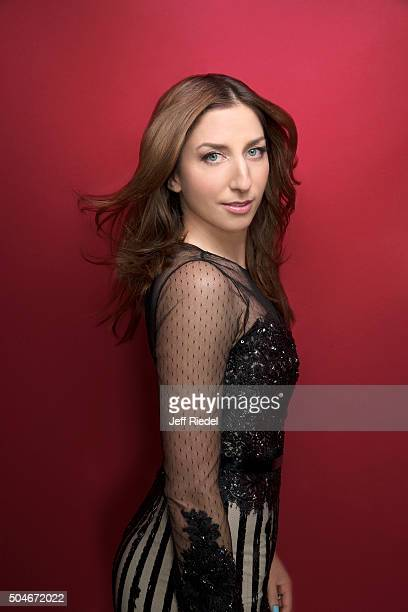 Actress Chelsea Peretti is photographed for TV Guide Magazine on January 17 2015 in Pasadena California