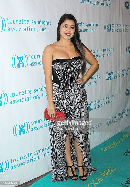 Actress Chelsea Rendon attends the 2nd annual Hollywood Heals spotlight on Tourette Syndrome at House of Blues Sunset Strip on March 5 2015 in West...