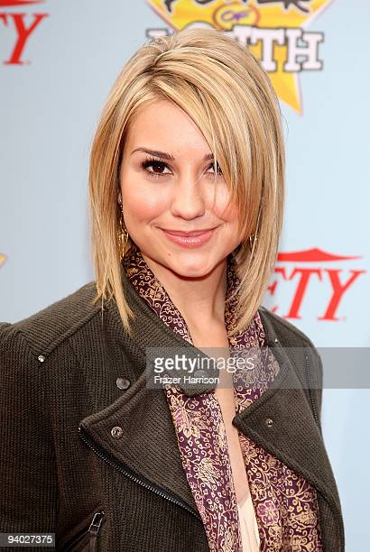 Actress Chelsea Staub arrives at Variety's 3rd Annual Power of Youth Event at Paramount Studios on December 5 2009 in Los Angeles California