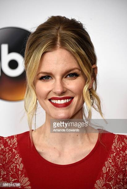 Actress Chelsey Crisp attends the Disney ABC Television Group TCA Summer Press Tour on August 4 2016 in Beverly Hills California