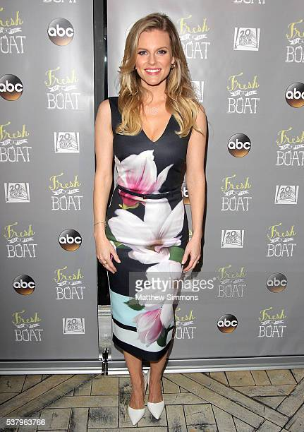 Actress Chelsey Crisp attends the Emmy FYC event for ABC's 'Fresh Off The Boat' at The London Hotel on June 3 2016 in West Hollywood California