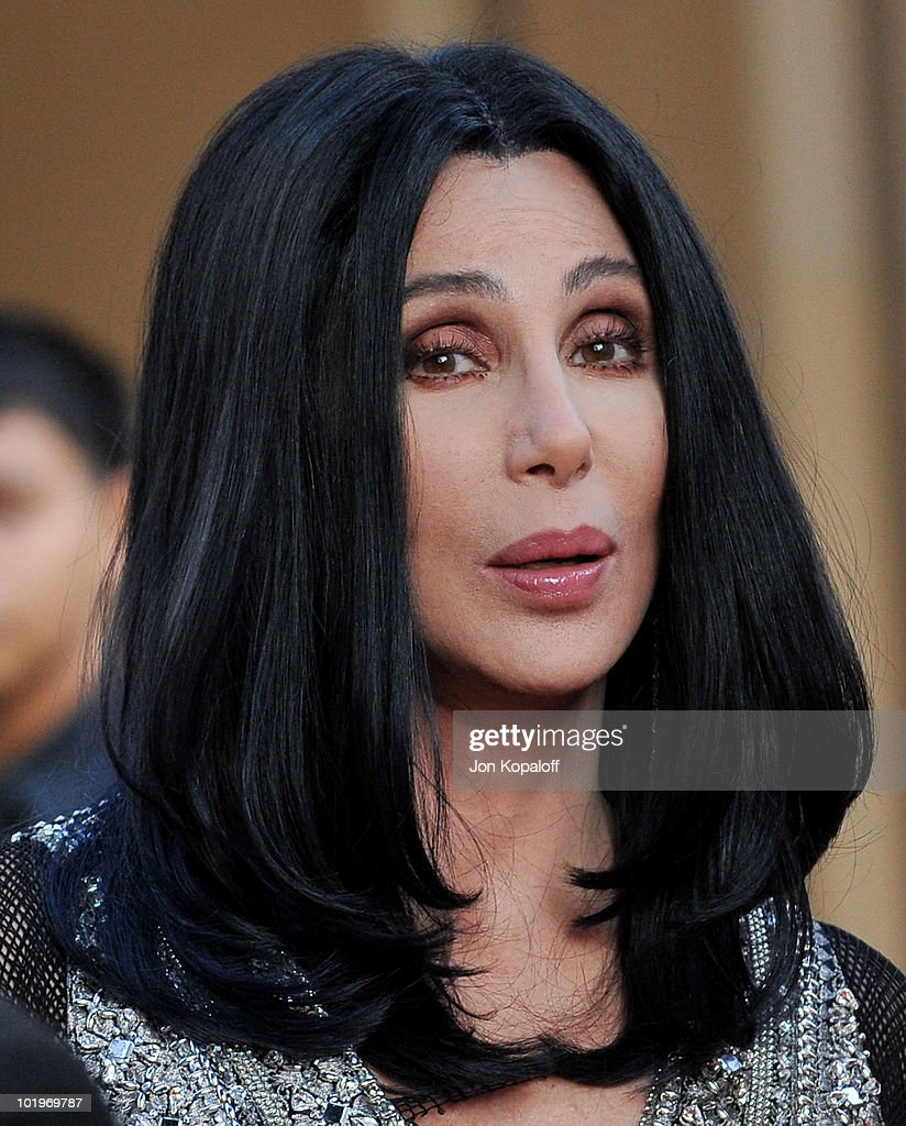 Actress Cher arrives at TV Land Presents: The AFI Life Achievement Awards Honoring Mike Nichols at Sony Studios on June 10, 2010 in Los Angeles, California.
