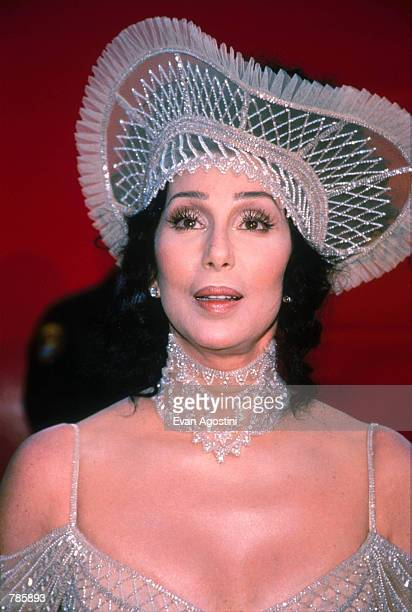 Actress Cher attends the Academy Awards March 23 1998 in Los Angeles CA Cher won the 1988 Best Actress Oscar for her role as Loretta Castorini in...