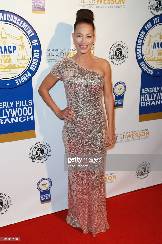 Actress Cheray O'Neal attends the 27th Annual NAACP Theatre Awards at Millennium Biltmore Hotel on February 26, 2018 in Los Angeles, California.