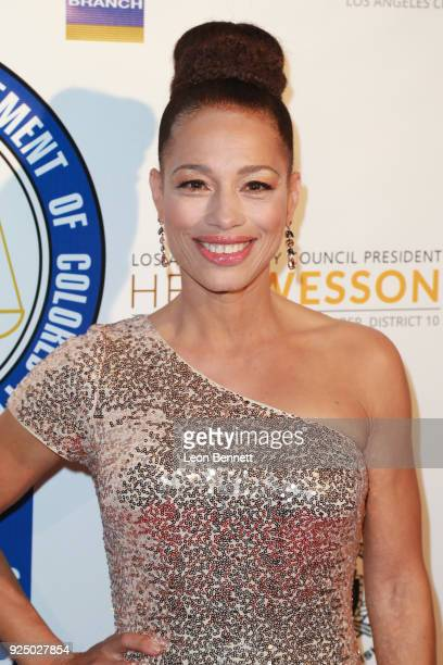 Actress Cheray O'Neal attends the 27th Annual NAACP Theatre Awards at Millennium Biltmore Hotel on February 26 2018 in Los Angeles California