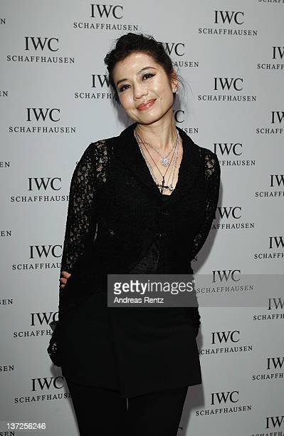 Actress Cherie Chung attend the IWC Schaffhausen Top Gun Gala Event during the 22nd SIHH High Jewellery Fair at the Palexpo Exhibition Hall on...