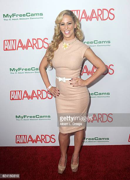 Actress Cherie DeVille arrives for the 2017 AVN Awards Nomination Party held at Avalon on November 17, 2016 in Hollywood, California.