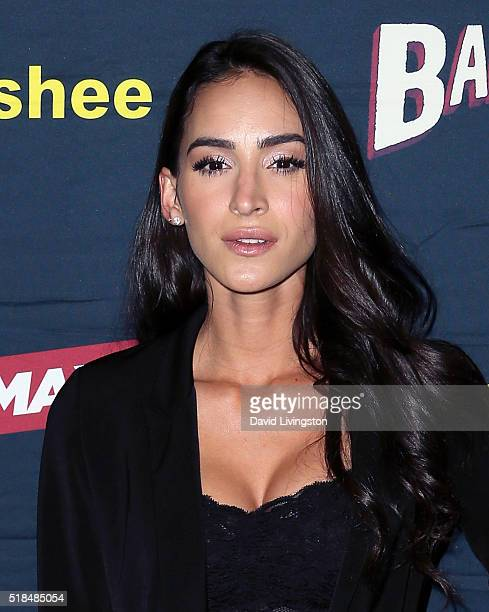Actress Cherie Jimenez attends the premiere of Cinemax's Banshee 4th Season at UTA on March 31 2016 in Beverly Hills California