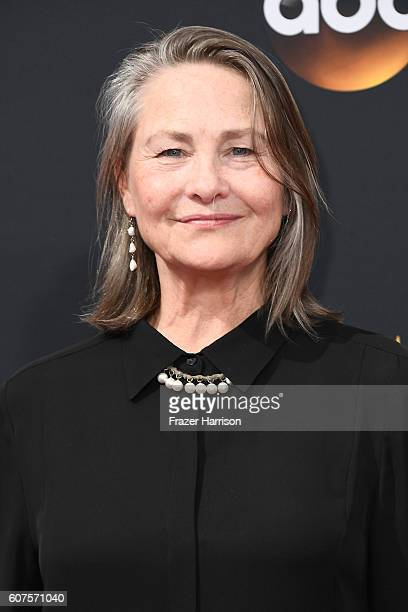 Actress Cherry Jones attends the 68th Annual Primetime Emmy Awards at Microsoft Theater on September 18 2016 in Los Angeles California