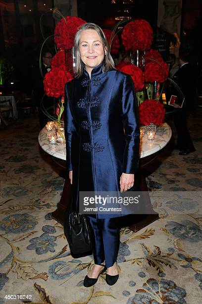 Actress Cherry Jones attends the 68th Annual Tony Awards Gala at The Plaza Hotel on June 8 2014 in New York City