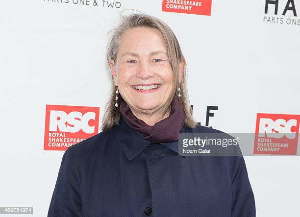 Actress Cherry Jones attends the openning Night of 'Wolf Hall' at Winter Garden Theatre on April 9 2015 in New York City