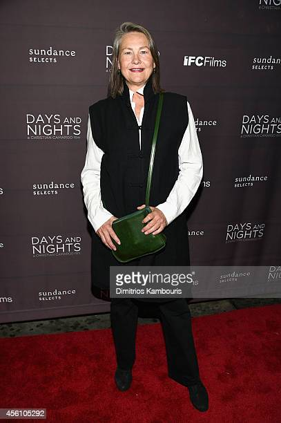 Actress Cherry Jones attends the premiere of 'Days And Nights' at the IFC Center on September 25 2014 in New York City