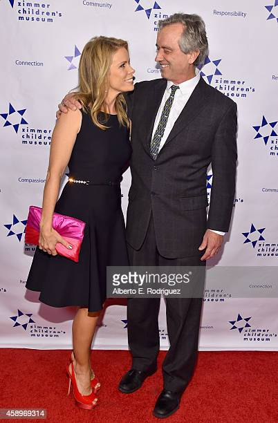 Actress Cheryl Hines and attorney Robert F Kennedy Jr attend The Zimmer Children's Museum's 14th Annual Discovery Awards Dinner Honoring Dick Lippin...