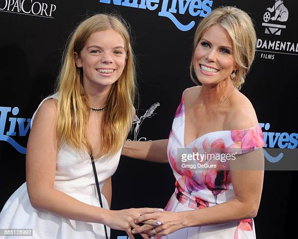 Actress Cheryl Hines and daughter Catherine Rose Young arrive at the premiere of EuropaCorp's 'Nine Lives' at TCL Chinese Theatre on August 1 2016 in...