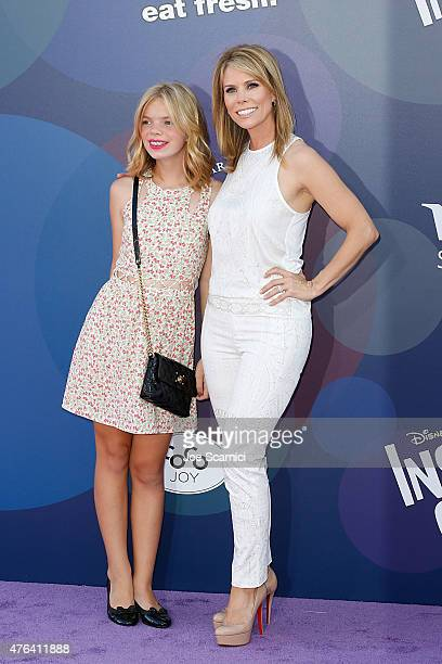 Actress Cheryl Hines and daughter Catherine Rose Young attend Disney/Pixar's Inside Out Los Angeles Premiere at the El Capitan Theatre on June 8 2015...