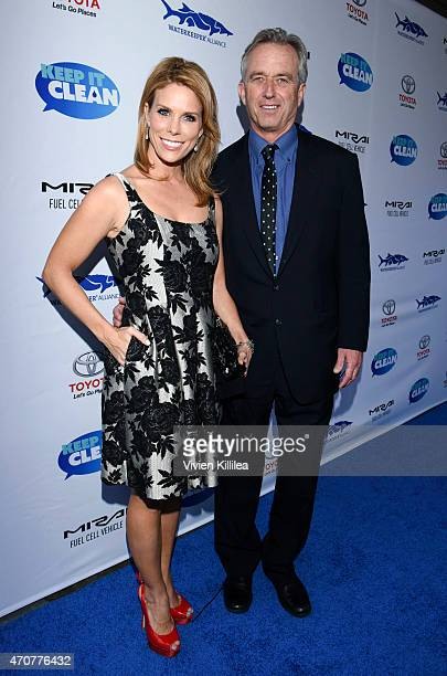 Actress Cheryl Hines and President of the Board of the Waterkeeper Alliance Robert F Kennedy Jr attend Keep It Clean To Benefit Waterkeeper Alliance...