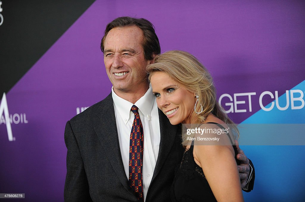 Actress Cheryl Hines and Robert F. Kennedy Jr. attend the 1st Annual Unite4:humanity Event hosted by Unite4good and Variety on February 27, 2014 in Los Angeles, California.