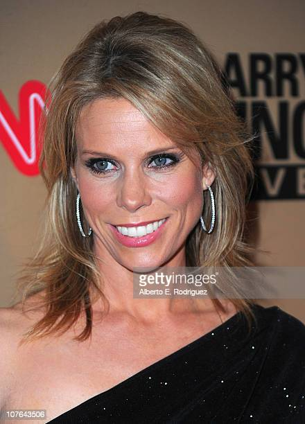 """Actress Cheryl Hines arrives at CNN's """"Larry King Live"""" final broadcast party at Spago restaurant on December 16, 2010 in Beverly Hills, California."""