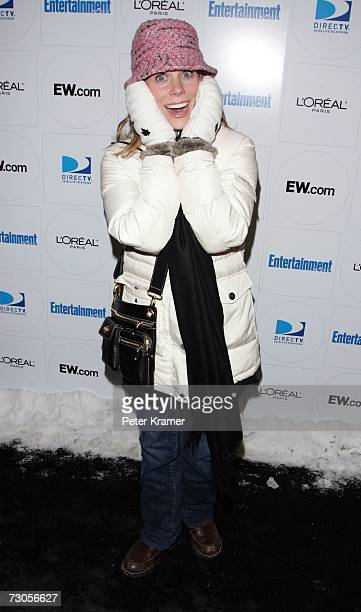 Actress Cheryl Hines arrives at Entertainment Weekly's celebration of the 2007 Sundance Film Festival and the launch of Sixdegreesorg during the...