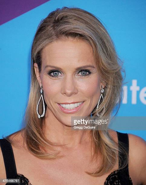 Actress Cheryl Hines arrives at the 1st Annual Unite4humanity event hosted by Unite4good and Variety at Sony Studios on February 27 2014 in Los...