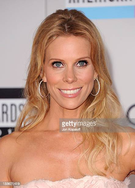 Actress Cheryl Hines arrives at the 2011 American Music Awards held at Nokia Theatre L.A. Live on November 20, 2011 in Los Angeles, California.