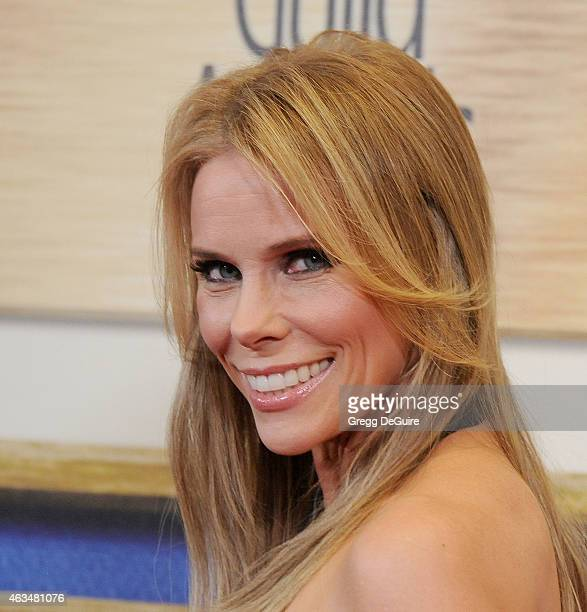 Actress Cheryl Hines arrives at the 2015 Writers Guild Awards LA Ceremony at the Hyatt Regency Century Plaza on February 14 2015 in Los Angeles...