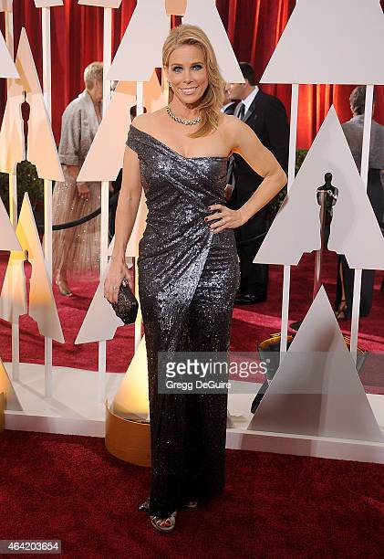Actress Cheryl Hines arrives at the 87th Annual Academy Awards at Hollywood Highland Center on February 22 2015 in Hollywood California