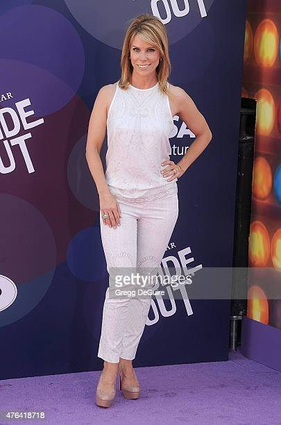 Actress Cheryl Hines arrives at the Los Angeles premiere of Disney/Pixar's 'Inside Out' at the El Capitan Theatre on June 8 2015 in Hollywood...