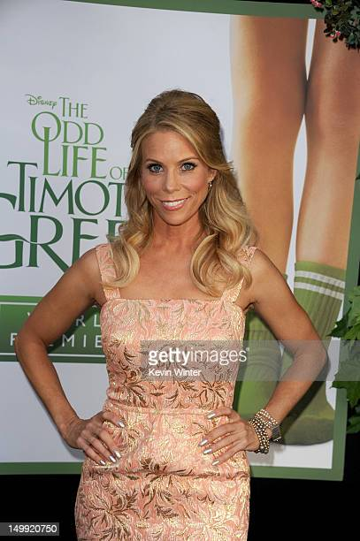 Actress Cheryl Hines arrives at the premiere of Walt Disney Pictures' The Odd Life of Timothy Green at the El Capitan Theatre on August 6 2012 in...