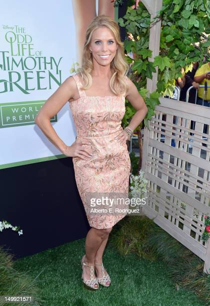 """Actress Cheryl Hines arrives at the Premiere of Walt Disney Pictures' """"The Odd Life Of Timothy Green"""" at the El Capitan Theatre on August 6, 2012 in..."""
