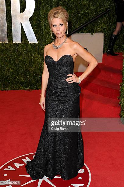 Actress Cheryl Hines arrives at the Vanity Fair Oscar party hosted by Graydon Carter held at Sunset Tower on February 27 2011 in West Hollywood...
