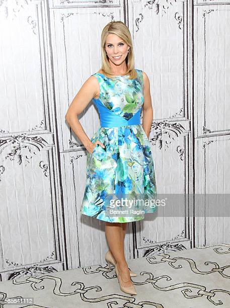 Actress Cheryl Hines attends AOL Build Speaker Series Nine Lives at AOL HQ on August 3 2016 in New York City