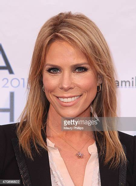 Actress Cheryl Hines attends LA Family Housing Awards 2015 at The Lot on April 23 2015 in West Hollywood California