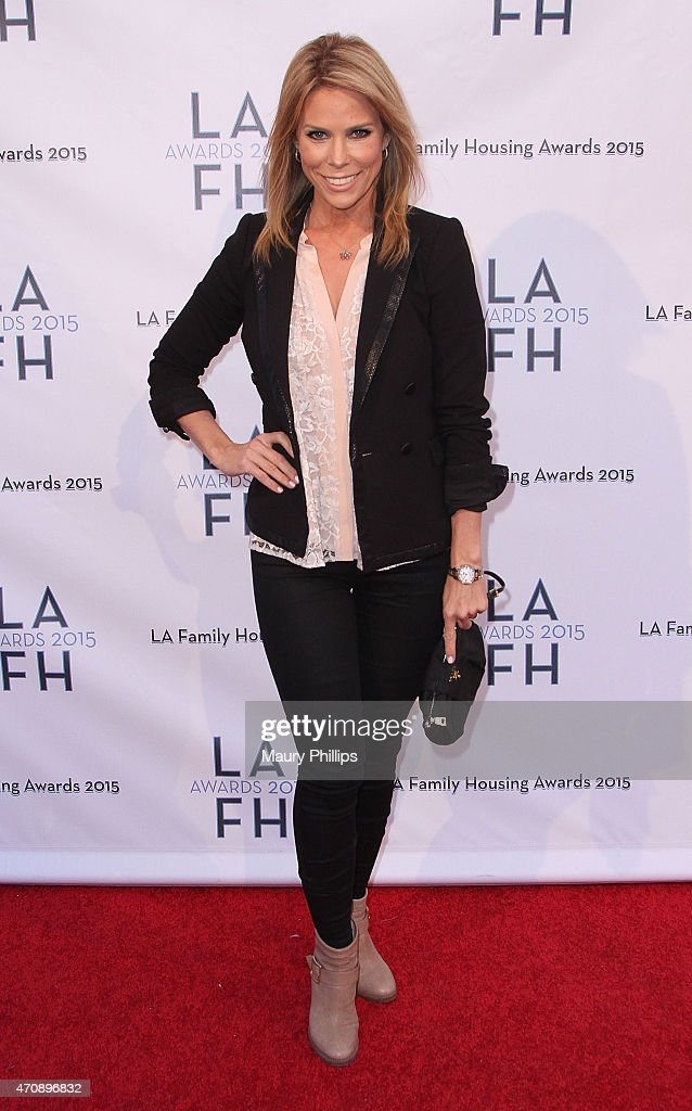 Actress Cheryl Hines attends LA Family Housing Awards 2015 at The Lot on April 23, 2015 in West Hollywood, California.