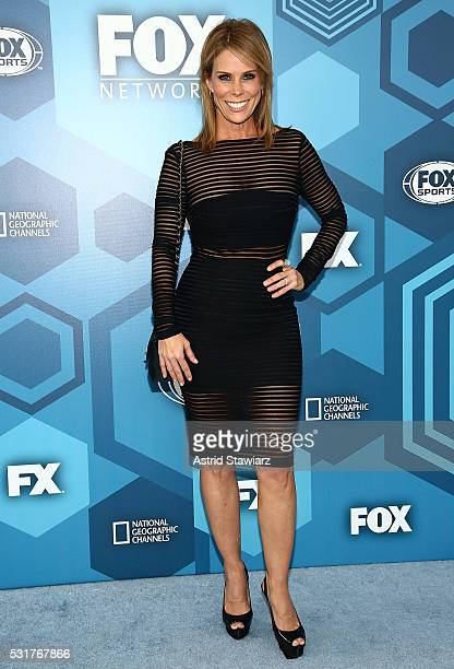Actress Cheryl Hines attends FOX 2016 Upfront Arrivals at Wollman Rink Central Park on May 16 2016 in New York City