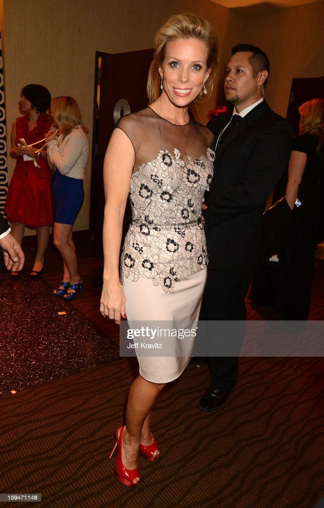 Actress Cheryl Hines attends HBO's Official Golden Globe Awards After Party held at Circa 55 Restaurant at The Beverly Hilton Hotel on January 13, 2013 in Beverly Hills, California.