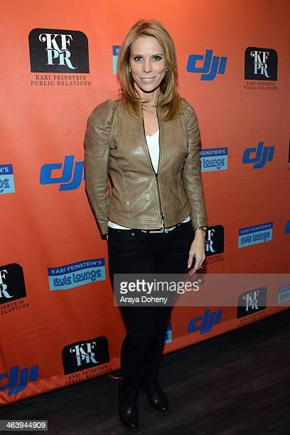 Actress Cheryl Hines attends Kari Feinstein Style Lounge on January 19 2014 in Park City Utah