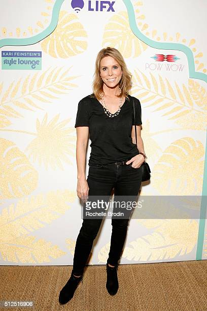 Actress Cheryl Hines attends Kari Feinstein's Style Lounge presented by LIFX on February 26 2016 in Los Angeles California
