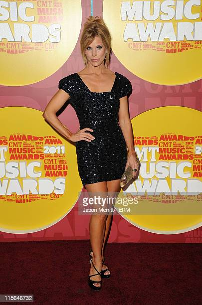 Actress Cheryl Hines attends the 2011 CMT Music Awards at the Bridgestone Arena on June 8 2011 in Nashville Tennessee