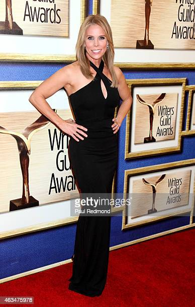 Actress Cheryl Hines attends the 2015 Writers Guild Awards LA Ceremony at the Hyatt Regency Century Plaza on February 14 2015 in Los Angeles...