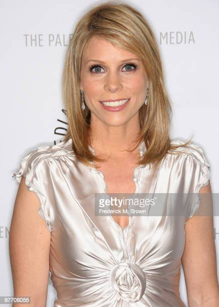 Actress Cheryl Hines attends the 27th annual PaleyFest Presents 'Curb Your Enthusiasm' event at the Saban Theatre on March 14 2010 in Beverly Hills...