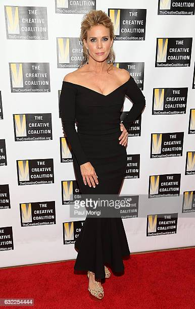 Actress Cheryl Hines attends The Creative Coalition's Inaugural Ball for the Arts at the Harman Center for the Arts on January 20 2017 in Washington...