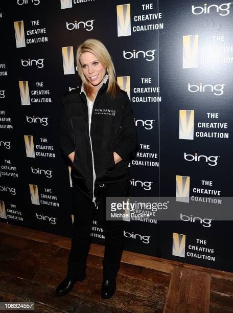 Actress Cheryl Hines attends The Creative Coalition's Teachers Making a Difference Luncheon Presented by Bing on January 25, 2011 in Park City, Utah.