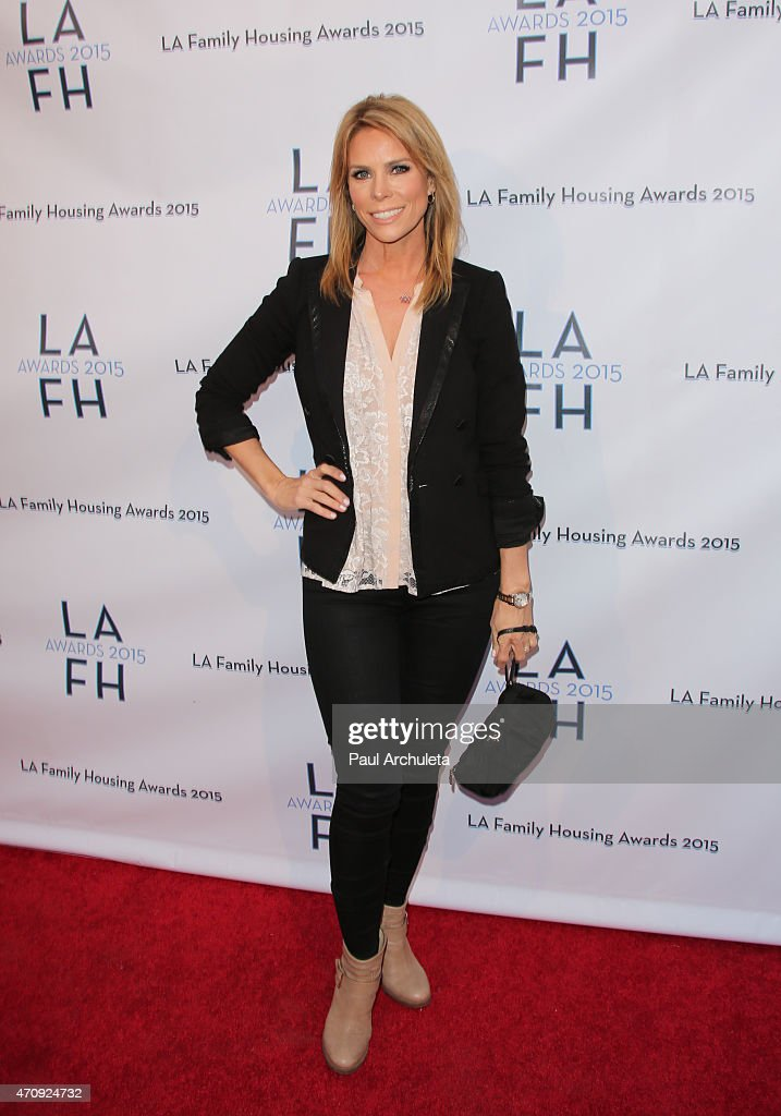 Actress Cheryl Hines attends the 'LA Family Housing Awards 2015' at The Lot on April 23, 2015 in West Hollywood, California.
