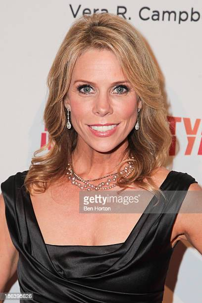 Actress Cheryl Hines attends the InnerCity Arts Imagine Gala at The Beverly Hilton Hotel on October 30 2013 in Beverly Hills California