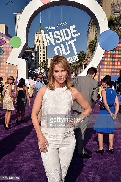 Actress Cheryl Hines attends the Los Angeles premiere of DisneyPixar's Inside Out at the El Capitan Theatre on June 8 2015 in Hollywood California