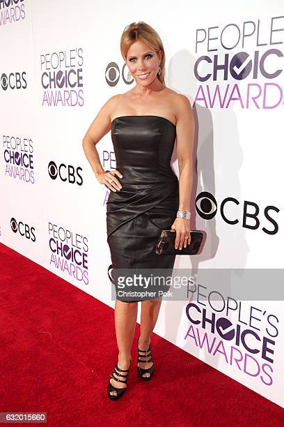 Actress Cheryl Hines attends the People's Choice Awards 2017 at Microsoft Theater on January 18 2017 in Los Angeles California